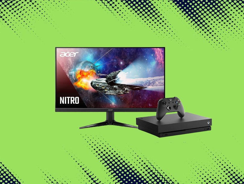 How To Set Up Omen Monitor For Xbox One X?