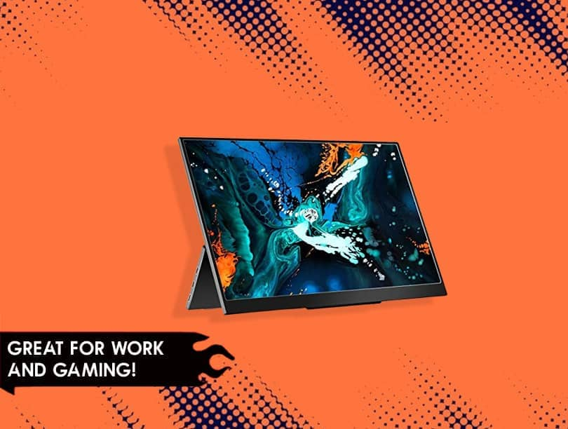 LTAIN 1080P USB Portable Monitor are Great for Work and Gaming!