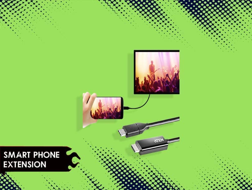 Smart Phone Extension of LTAIN 1080P USB Portable Monitor
