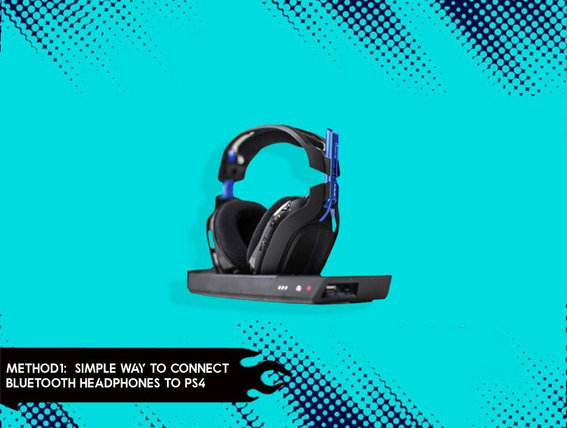 Simple Way to Connect Bluetooth Headphones to PS4