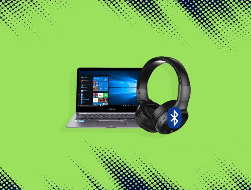 How to connect Bluetooth headphones to a laptop